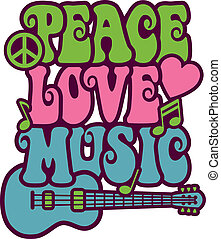 音楽, 愛, 平和
