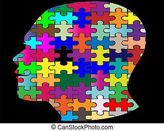 頭, ジグソーパズル