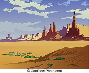 風景, アリゾナ