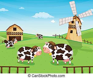 風車の 農場, ヤギ