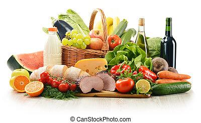 食料雑貨, プロダクト, 構成, 変化