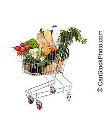 食料雑貨, 買い物カート