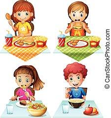 食物, 食べること