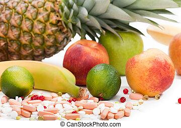 食物, multi, フルーツ, ビタミン