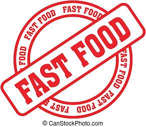 食物, stamp8, 単語, 速い