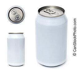 飲料の缶, テンプレート