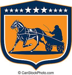 馬, ジョッキー, 保護, 馬具, レトロ, 競争
