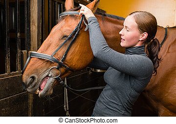 馬, 添え金