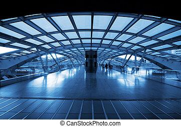 駅, 列車, 現代 建築