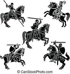 騎士, 紋章学