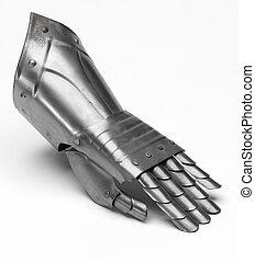 騎士, 鉄, 手袋