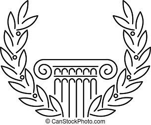 骨董品, ギリシャ語, コラム, 月桂樹