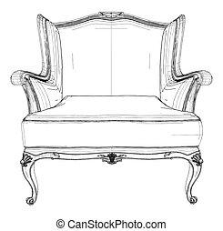骨董品, 肘掛け椅子