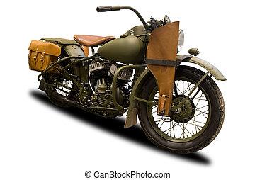 骨董品, 軍, オートバイ