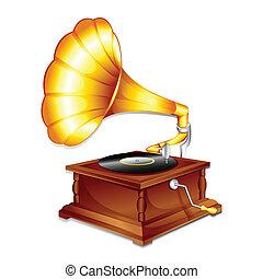 骨董品, gramaphone