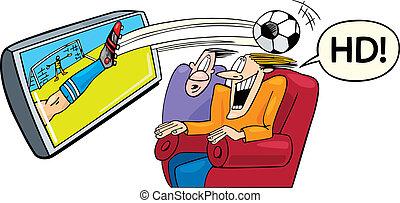 高く, 定義, テレビ, スポーツ