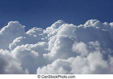 高く, 積乱雲, 高度, 雲