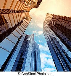 高く, 超高層ビル