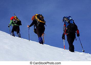 高山, 歩きなさい