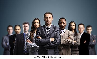 魅力的, 若い, ビジネス 人々
