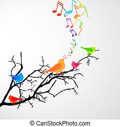 鳥, 歌うこと