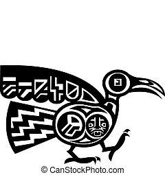 鳥, aztec