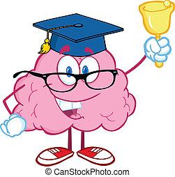鳴り響く, 脳, 教師, 鐘
