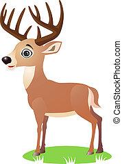 鹿, 漫画