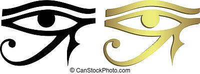 黒い 目, horus, 金