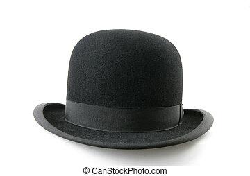 黒, ボーリング競技者帽子