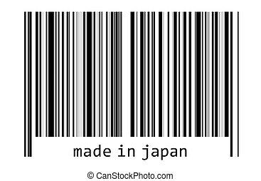 -, コード, バー, 日本, 作られた