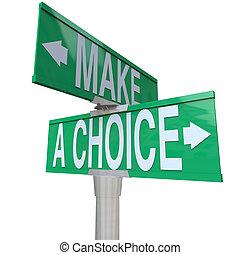 -, 作りなさい, 両方向である, 選択肢, 選択, 通り, ∥間に∥, 2, 印