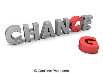 -, 灰色, ii, チャンス, 赤, 変化しなさい