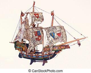 00056, 帆船
