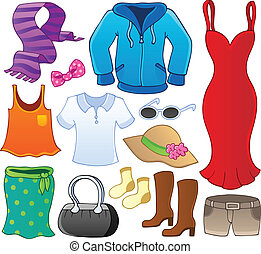 1, 主題, コレクション, 衣服