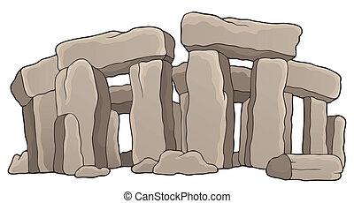 1, 石, 古代, 主題, 記念碑