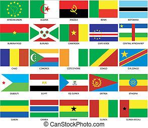 1, 25, 旗, アフリカ