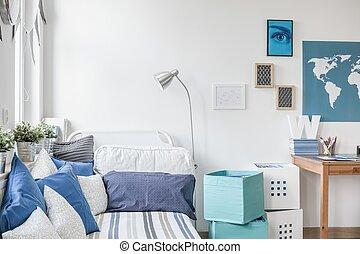 10代少年, 設計された, 寝室