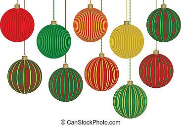 10, すばらしい, クリスマス装飾