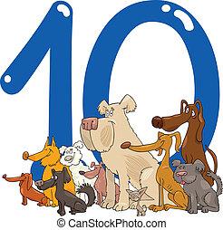 10, 数, 10, 犬