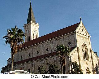11 月, franciscan, 教会, jaffa, 2011