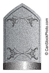 2, 墓碑