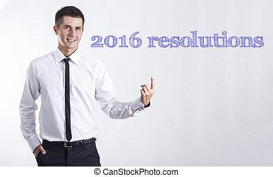 2., 指すこと, テキスト, -, 若い, 3., ビジネスマン, 微笑, 2016, resolutions, 1.