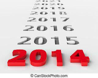 2014, 未来