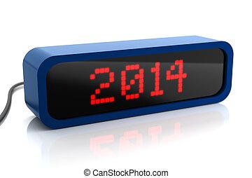 2014, led 表示, 年