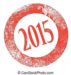 2015, ゴム製 スタンプ