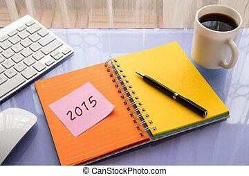 2015, 新しい, 仕事, 決断, 年