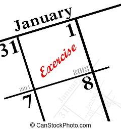 2015, 新しい, 決断, 年