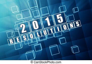 2015, resolutions