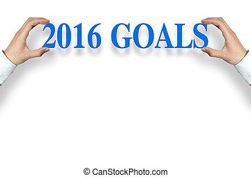 2016, ゴール
